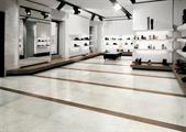 Chambord Bianco 60x120, Cenere inserto in legno 15x120, obklad Paé Wall Bianco, Sichenia