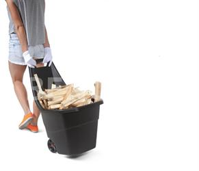 Zahradní plastový vozík Load&Go 55 litrů