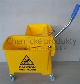 Úklidový vozík Plastový malý 20 litrů