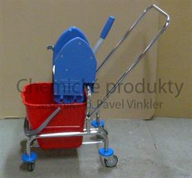 Úklidový vozík CLAROL 1x17 l + ždímač