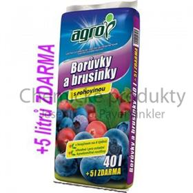 Substrát pro borůvky a brusinky 40 + 5 L ZDARMA