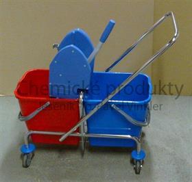 Úklidový vozík CLAROL 2x25 l + ždímač