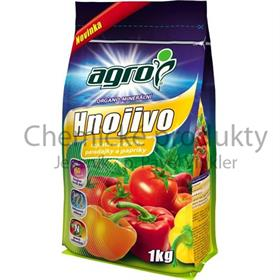 AGRO organo-minerální hnojivo pro rajčata a papriky