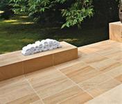 Série Sandston od firmy Blustyle se vyrábí jak do interiéru tak v protiskluzu R11