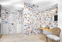 Obklad Kandinsky 20x20,dekory Cerchi-Cerchi mosaico,podlaha Dogma