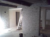 obklad interiéru stěn,imitací umělého kamene