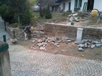 Oprava kamenné zítky